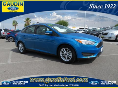 Certified Used Ford Focus SE & Certified Pre-Owned Fords - Henderson | Gaudin Ford markmcfarlin.com