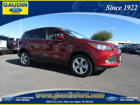 Certified Used Ford Escape SE & 116 Used Cars in Stock Las Vegas Henderson | Gaudin Ford markmcfarlin.com