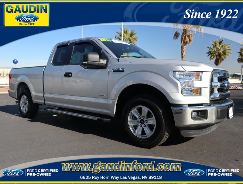 Certified Pre-Owned 2015 Ford F-150 XLT Super Cab in Las Vegas ...