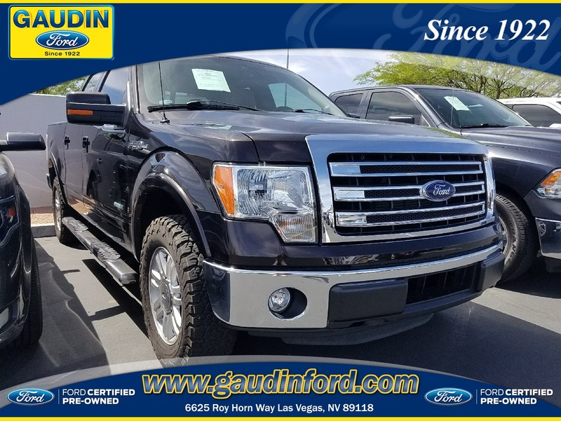 Pre-Owned 2014 Ford F-150 Lariat 4D SuperCrew in Las Vegas #8T4134A